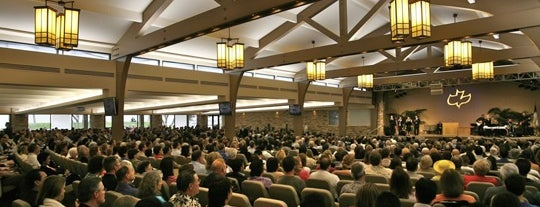 Calvary Chapel of Costa Mesa is one of favs.