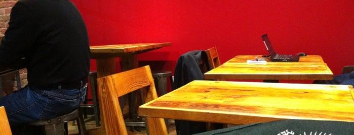 Blend Cafe At Golden Belt is one of Durham Favorites.
