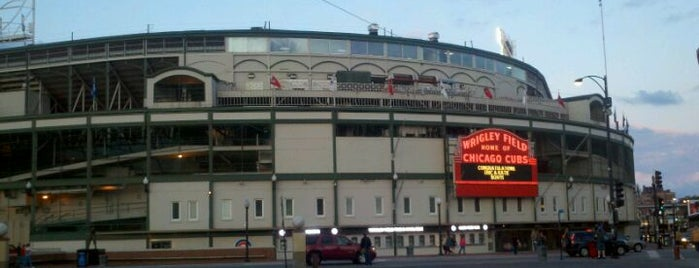 Wrigley Field is one of Baseball Stadiums.