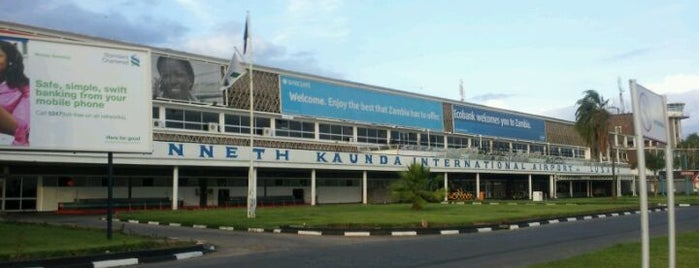 Kenneth Kaunda International Airport (LUN) is one of Major Airports Around The World.
