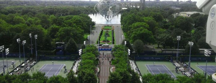US Open Tennis Championships is one of Orte, die Andrew gefallen.