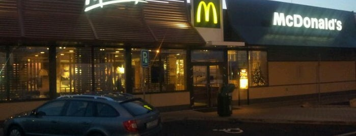 McDonald's is one of Orte, die N. gefallen.