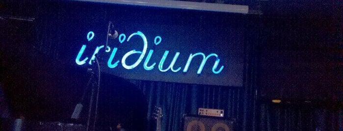 The Iridium is one of New York.