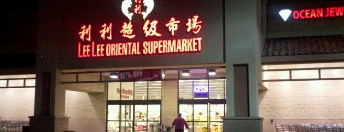 Lee Lee International Supermarket is one of Lugares favoritos de Jessica.