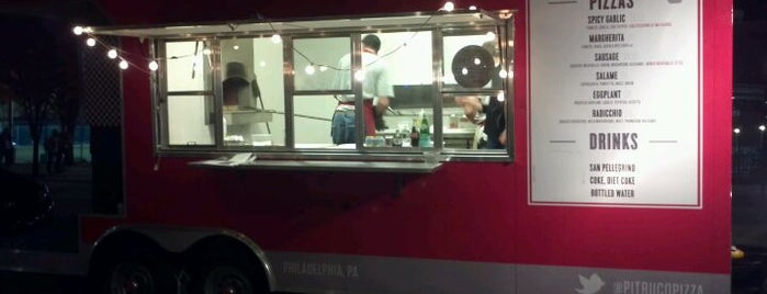 Pitruco Mobile Wood-Fired Pizza is one of Philly Food Trucks.