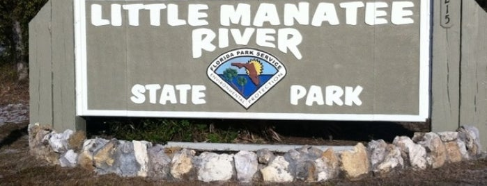 Little Manatee River State Park is one of My Fun.