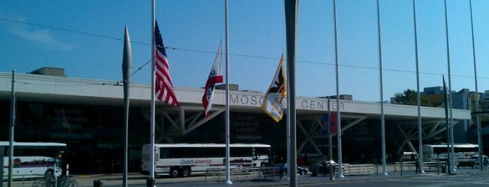 Moscone South is one of Tempat yang Disukai Michael.