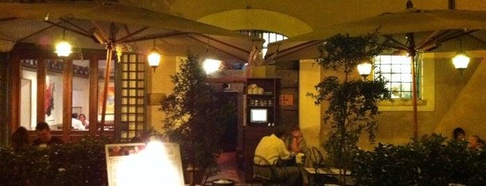 """Trattoria de """"Gli Amici"""" is one of Rome."""