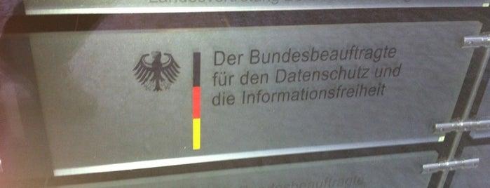 Bundesbeauftragte für den Datenschutz und die Informationsfreiheit (BfDI) is one of Berlin #4sqcities.