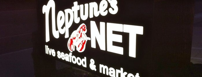 Neptune's Net is one of L.A..