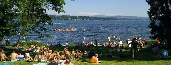 Madison Park Beach is one of Lost in Seattle.