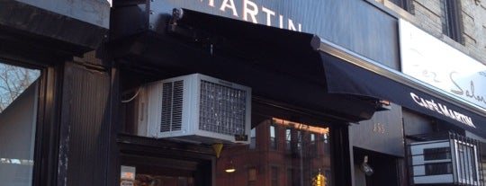 Café Martin is one of NYC Laptop Friendly Spots.