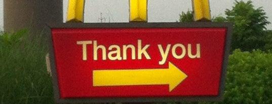 McDonald's is one of Tempat yang Disukai Matt.