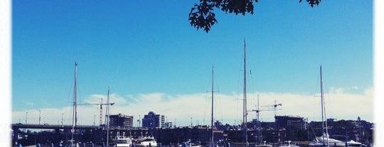 Marinaside Seawall is one of Canada.