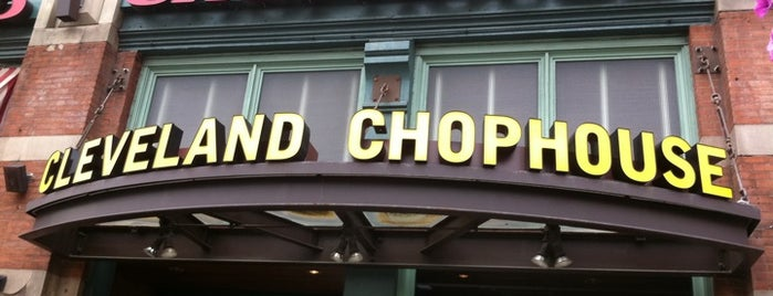 Cleveland ChopHouse & Brewery is one of Breweries to Visit.