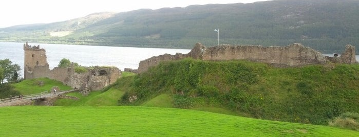 Urquhart Castle is one of Hopefully, I'll visit these places one day....