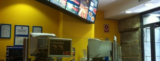 Domino's Pizza is one of All American Life in Madrid.