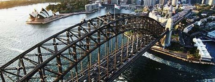 Sydney Harbour Bridge is one of Australia & New Zealand.