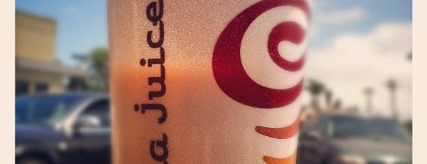 Jamba Juice is one of David & Dana's LA BAR & EATS!.