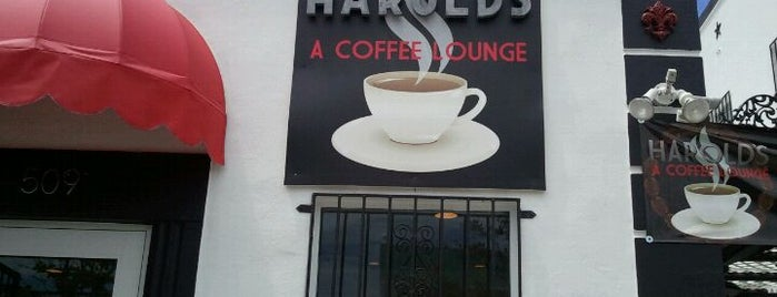 Harold's Coffee Lounge is one of West Palm Food.
