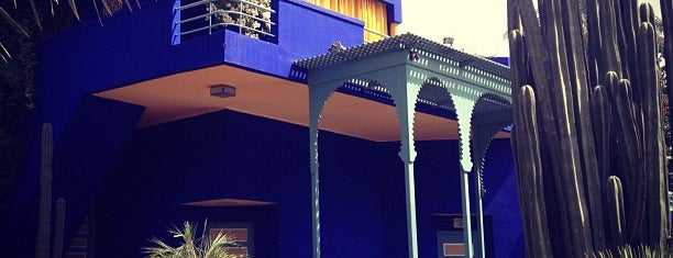 Jardin Majorelle is one of Marroko.