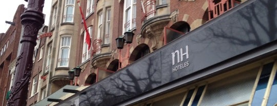 Hotel NH Amsterdam Schiller is one of The Heritageさんの保存済みスポット.