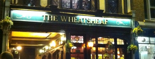 The Wheatsheaf is one of London.