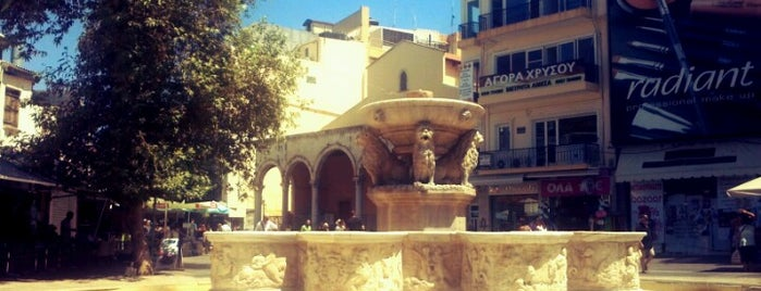 Morozini Fountain is one of Lieux qui ont plu à Kyriaki.