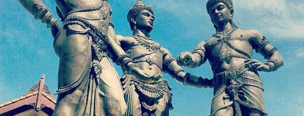 พระบรมราชานุสาวรีย์สามกษัตริย์ is one of Chiang Mai To Do.