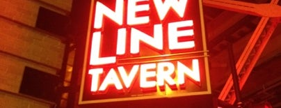 New Line Tavern is one of Lugares favoritos de Rick.