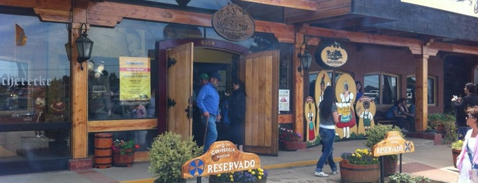 """La Cervecería"" Kunstmann is one of Valdivia."