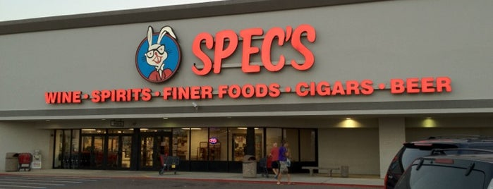 Spec's Wine Spirits & Finer Foods is one of Posti che sono piaciuti a Gregory.