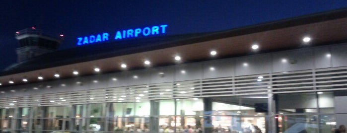 Zadar Airport (ZAD) is one of Croacia.