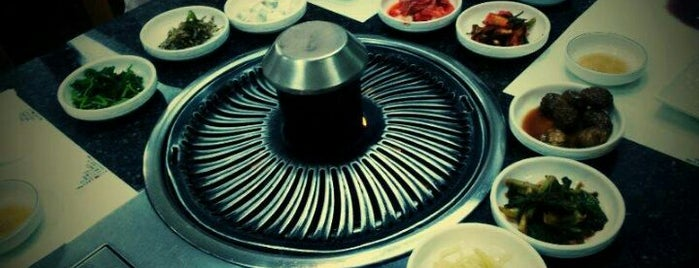 Hanwoori Korean Restaurant (한우리) is one of Owen'in Kaydettiği Mekanlar.