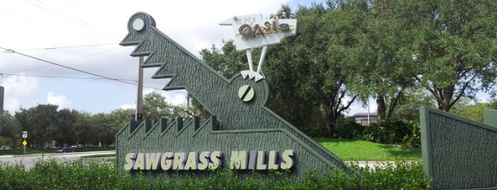 Sawgrass Mills is one of Miami.