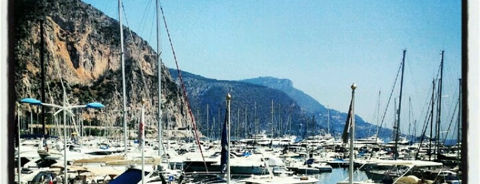 Port de Beaulieu-sur-Mer is one of Gabrielさんのお気に入りスポット.