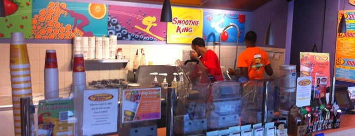 Smoothie King is one of Lugares favoritos de Eric.