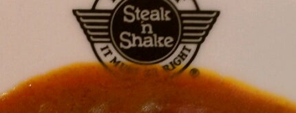Steak 'n Shake is one of Locais curtidos por Brian.