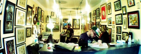 The Okey Doke Tattoo Shop is one of Ceejay 님이 좋아한 장소.