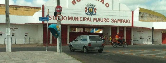 Estádio Municipal Mauro Sampaio (Romeirão) is one of Joziel'in Beğendiği Mekanlar.
