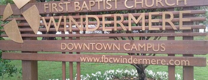 First Baptist Church Windermere - Downtown Campus is one of Posti che sono piaciuti a Adam.