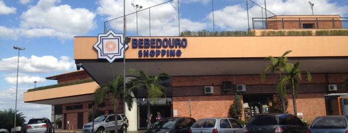 Bebedouro Shopping is one of shopping.