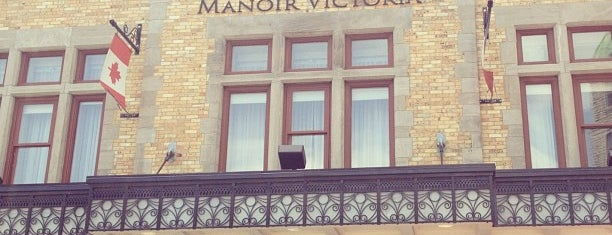 Hotel Manoir Victoria is one of Orte, die Alan gefallen.