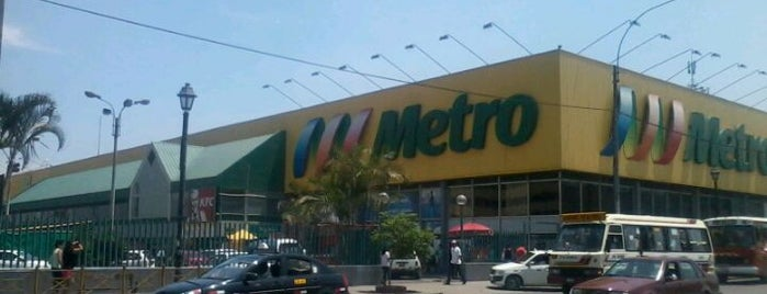 Metro is one of Lugares favoritos de Julio D..