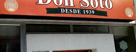 Sanduches Don Soto is one of Locais curtidos por Juan.