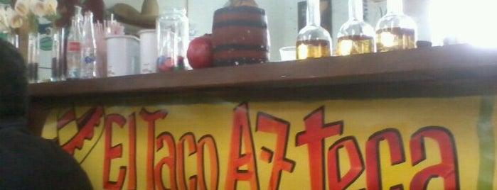 El Taco Azteca is one of picadas pa' comer weno.