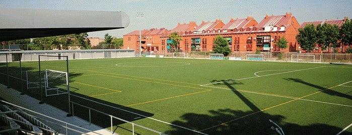 Polideportivo La Mina is one of Gimnasios.