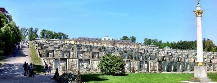 Park Sanssouci is one of Brandenburg Blog.