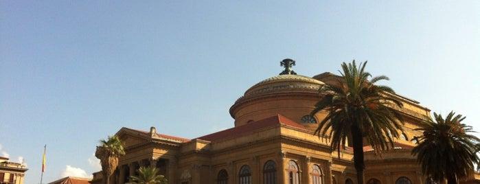 Piazza Verdi is one of Grand Tour de Sicilia.