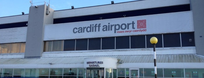 Aeropuerto Internacional de Cardiff (CWL) is one of Airports - Europe.